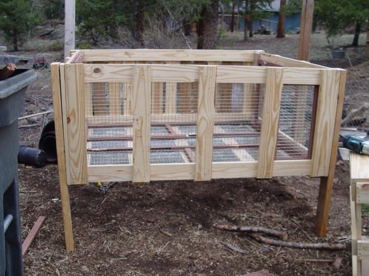 Дом для кроликов своими руками фото конструкция 3 этажного