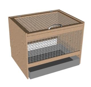 Клетки для кроликов своими руками в домашних условиях